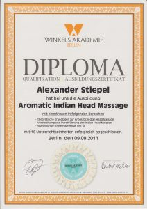 Aromatic Indian Head Massage