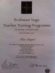 Brahmani Certificate Kopie