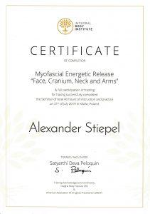 MER Myofascial Energetic Release Zertifikat